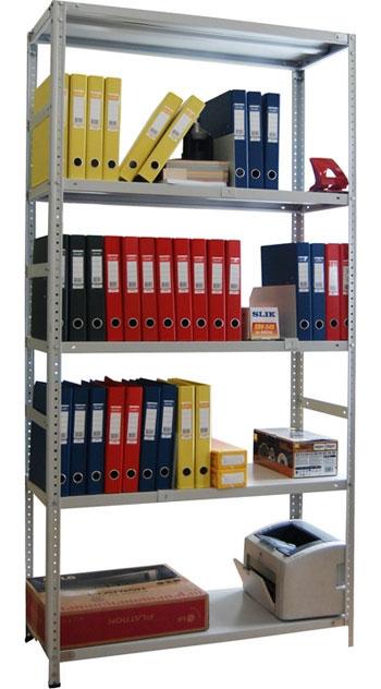 Архивные стеллажи СТФ (нагрузка на ярус  125 кг.)