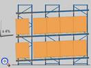 Роллинговые (гравитационные) стеллажи